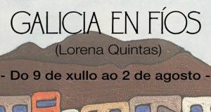 """A Sala de Exposicións de Verín acolle a mostra """"Galicia en fíos"""""""
