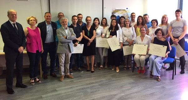 """Photo of 25 emprendedores valdeorreses conclúen o programa """"Autoemprego e consolidación empresarial"""""""