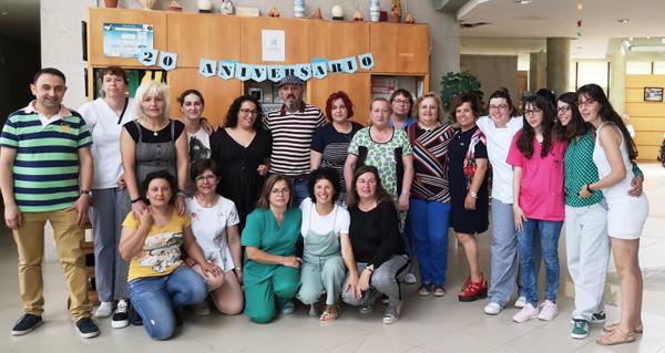 Photo of A Residencia Gabino García de Manzaneda celebra o seu 20 aniversario