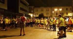 150 persoas súmanse á XII Andaina Nocturna Os Mouchos no Barco