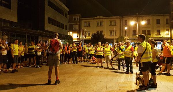 Photo of 150 persoas súmanse á XII Andaina Nocturna Os Mouchos no Barco