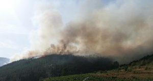 Extinguido o incendio de Montefurado (Quiroga)