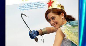 """O monólogo """"Nabiza girl"""", de Isabel Risco, abre a fin de semana da Festa da Bica en Trives"""