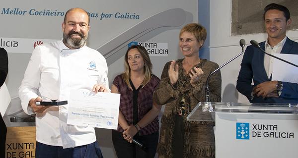 Photo of Paco Gómez, da Pulpería A Feiriña de Ourense, escollido mellor cociñeiro de petiscos