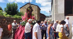 Petín honra a Santiago Apóstolo