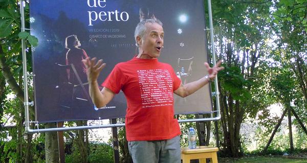 Photo of Un divertido mundo de contos con Avelino González, no Barco