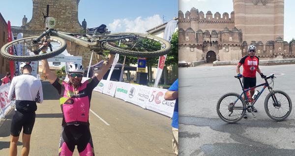 Photo of O valdeorreses Diego Seco e José López participan na Pilgrim Race, que chegará mañá a Vilamartín