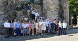 Os deputados do PP no Parlamento Galego, de visita en Ribadavia