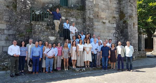 Photo of Os deputados do PP no Parlamento Galego, de visita en Ribadavia