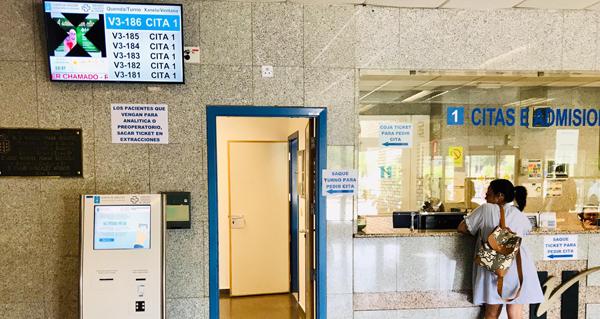 """Photo of O Hospital de Verín instala o sistema de innovación """"Quenda"""" para a atención de pacientes en consulta"""