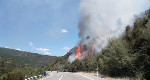 Novo incendio en Quiroga