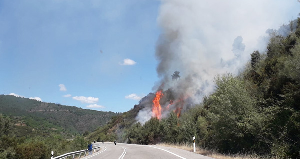 Photo of Novo incendio en Quiroga