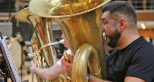O tuba e director da Banda de Música de Sober, Miguel Franqueiro, reforzará a plantilla da orquestra do Teatro alla Scala de Milán