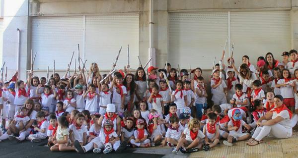 Photo of A Ludoteca de verán de Verín celebra San Fermín por sétimo ano consecutivo