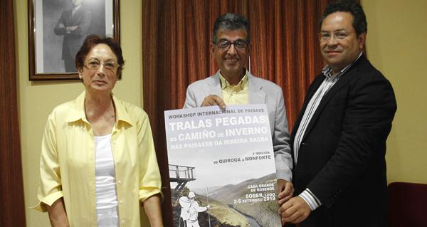 Photo of Sober acollerá un seminario internacional sobre o Camiño de Inverno na Ribeira Sacra