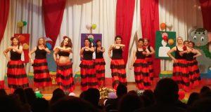 """O Ximnasio Trivesport presentaba """"Gran Circo do Baile"""""""