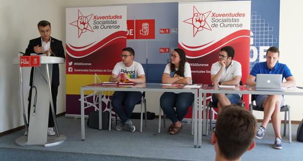 Photo of Xurxo Doval, novo coordinador provincial de Ourense das Xuventudes Socialistas de Galicia