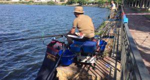 A Rúa acolle o campionato galego de pesca de auga doce