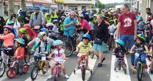 O XXIX Día da Bici de Trives reúne a 160 ciclistas de todas as idades