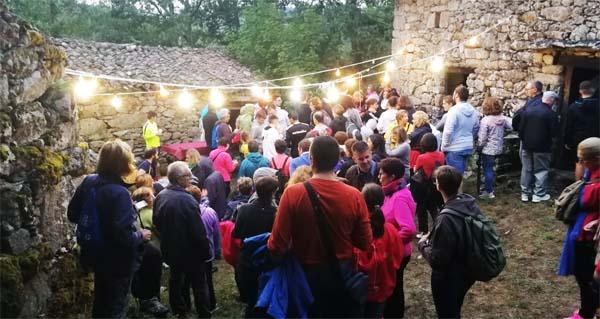 Photo of Os Sequeiros, escenario do II Sendeiro Teatralizado do verán en Trives