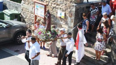 Photo of Procesión na honra a San Bartolo, en Rubiá