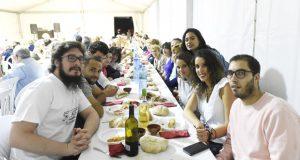 Unha cea popular abre as festas de San Simón en Lentellais (O Bolo)