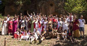 Galaicos e romanos, nas Covas do Medo (Margaride)