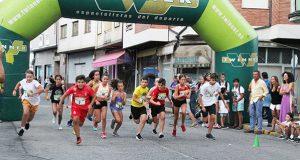 A 6ª Milla Urbana da Rúa reúne a preto de 80 atletas