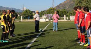 Emotividade e deportividade no IV triangular de fútbol veterano Festas da Rúa