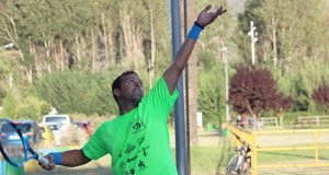 Carlos García, vencedor absoluto do XXII Torneo de Tenis Festas da Rúa