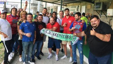 Photo of Boa entrada no campo de Espiñedo (O Carballiño) no primeiro partido da tempada en 3ª división