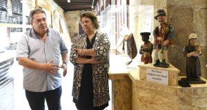 """Inaugúrase o programa """"Verín, enclave de gaita"""" cunha exposición no Museo Claustro Mercedario"""