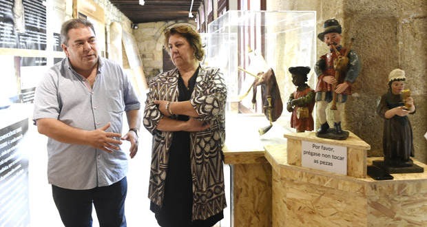 """Photo of Inaugúrase o programa """"Verín, enclave de gaita"""" cunha exposición no Museo Claustro Mercedario"""