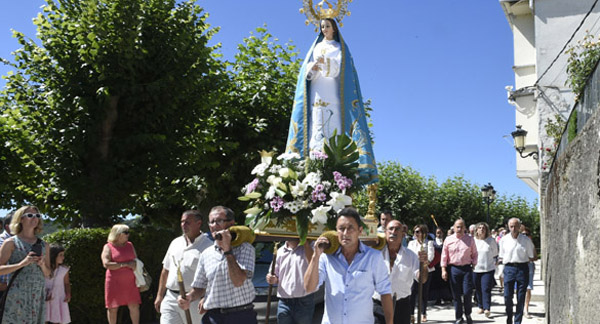 Photo of Viana do Bolo celebra a Asunción e o San Roque