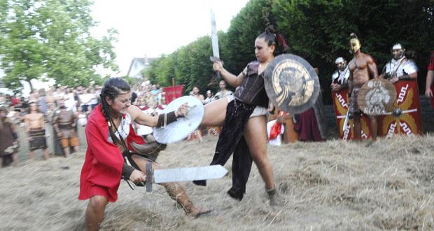 Photo of Entre romanos, castrexos e gladiadores polas rúas de Qui-Roma