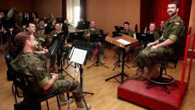 Photo of Sober acolle un concerto de dúas bandas de música militares