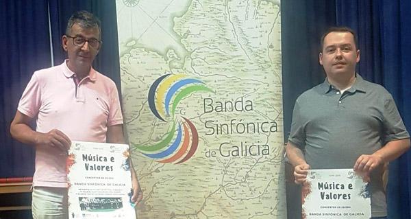 Photo of Sober acollerá un concerto da Banda Sinfónica de Galicia este sábado