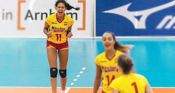 Photo of A quiroguesa Carolina Camino será unha das adestradoras do VI Campus de Voleibol Ribeira Sacra Monforte