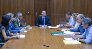 Constitúese o pleno do Consorcio Provincial contra Incendios e Salvamento de Ourense