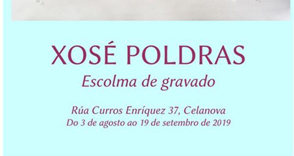 """Photo of A Casa dos Poetas de Celanova acolle a mostra """"Escolma de gravados"""", de Xosé Poldras"""
