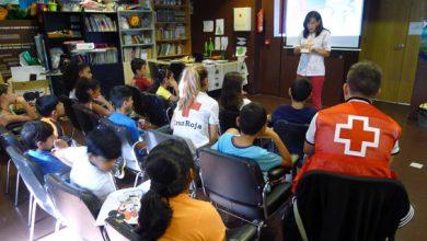 Photo of Aprendendo saúde bucodental no campamento de verán da Cruz Vermella Valdeorras