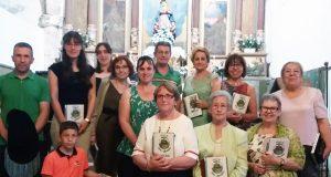 O coro Voces de San Martiño canta na parroquia de Cesuris (Manzaneda)