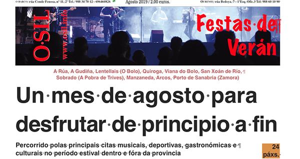 Photo of Especial Festas de Verán do Periódico O Sil, para non perder unha cita