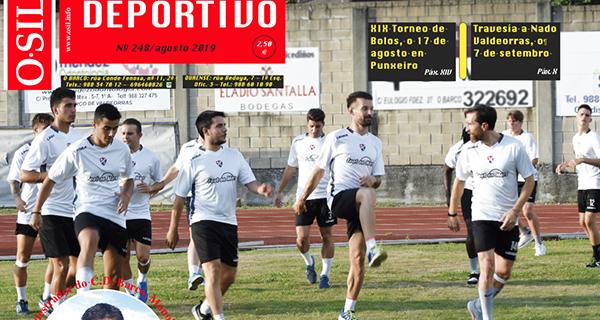 Photo of A pretempada dos equipos de fútbol ourensáns de terceira división, no Sil Deportivo de agosto