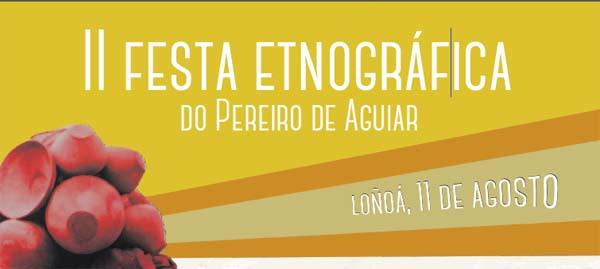 Photo of Loñoá acolle a II Festa Etnográfica do Pereiro de Aguiar