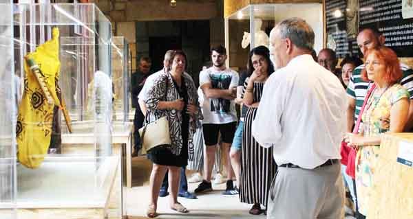 """Photo of A exposición """"Verín, enclave de gaita"""" supera xa as 700 visitas dende a súa apertura"""