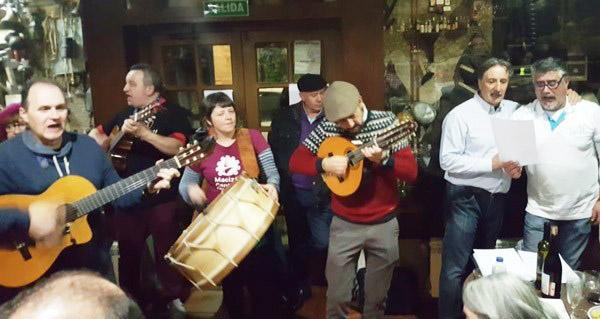 Photo of Os Cantos de Taberna abrirán esta tarde a XI Mostra do Patrimonio Inmaterial de Trives
