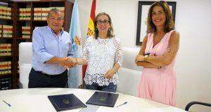 O Bolo e a Xunta asinan un convenio para o acondicionamento da estrada entre Cambela e O Vao