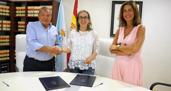 Photo of O Bolo e a Xunta asinan un convenio para o acondicionamento da estrada entre Cambela e O Vao