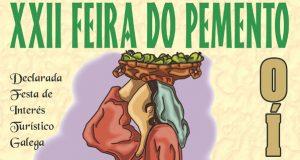 A XXII Feira do Pemento, o vindeiro 4 de agosto en Oímbra